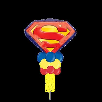Jumbo Party Pole- Superman