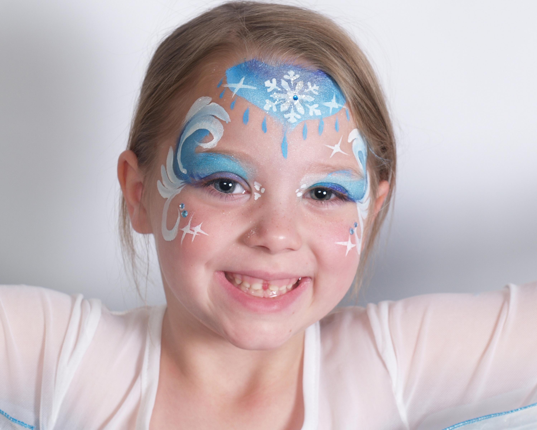 Queen Elsa Frozen Princess Face Painting 03