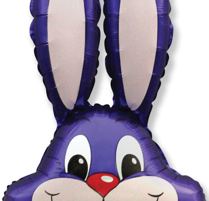Purple-Bunny-Head