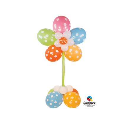 Cheerful Flower balloon