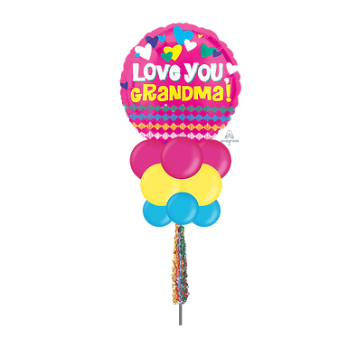 Love You Grandma Large Party Pole