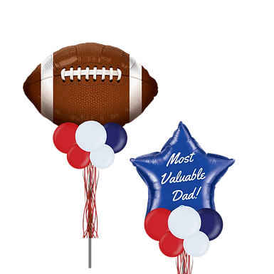 Sports Most Valuable Dad - Fathers Day Party Pole Combo