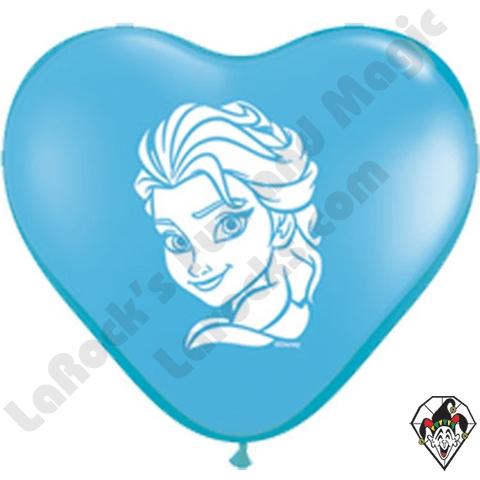 Elsa- Printed Heart