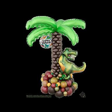 Dinosaur Palm Tree Balloon Sculpture