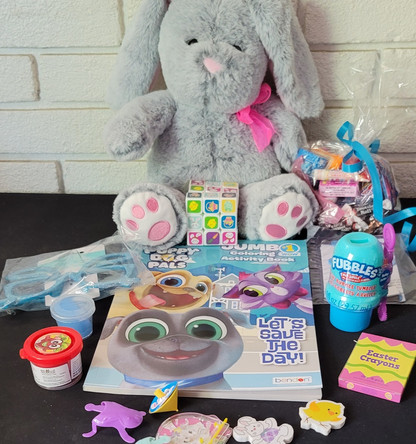 Sample of Items for Standard Bunny Balloon