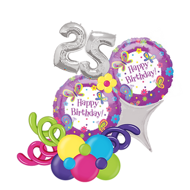 Butterfly Happy Birthday Balloon Marquee Gift