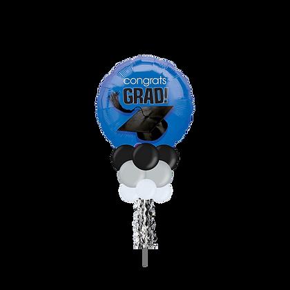 Large Party Pole- Congrats Grad