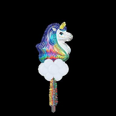 Jumbo Party Pole- Unicorn