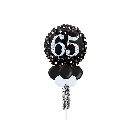 65 Happy Birthday Large Party Pole