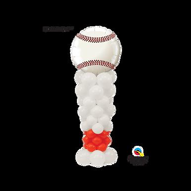 Baseball and Bat Column
