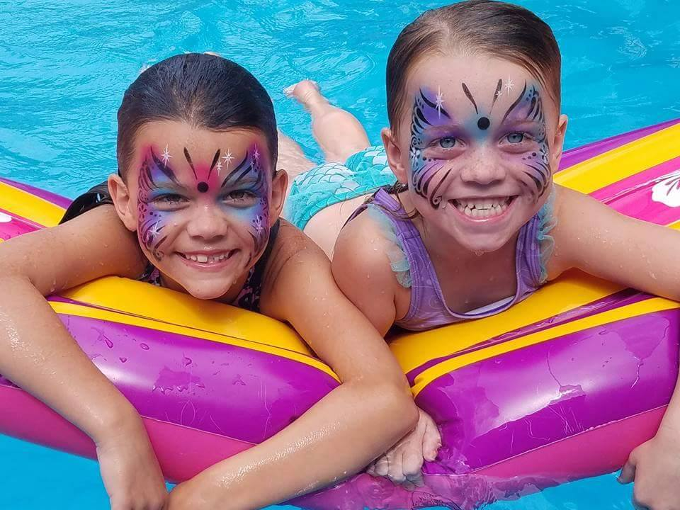 Water Proof Face Painting