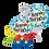 Thumbnail: Lego/Colorful Blocks Happy Birthday Balloon Marquee Gift
