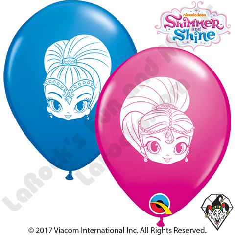 Shimmer & Shine- Printed Round