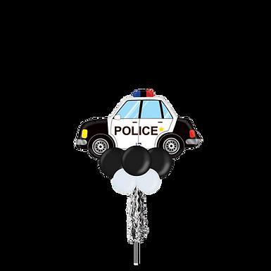 Jumbo Party Pole- Police Car