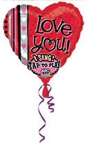 "29"" Singing Helium Balloon $17.95"
