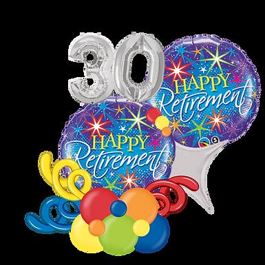 Happy Retirement Balloon Marquee Gift
