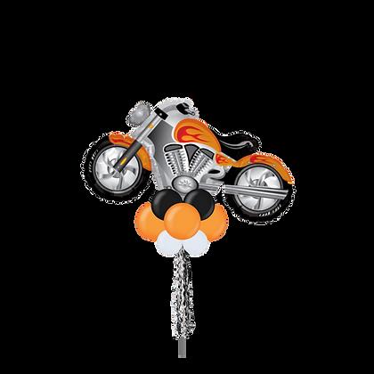 Jumbo Party Pole- Motorcycle