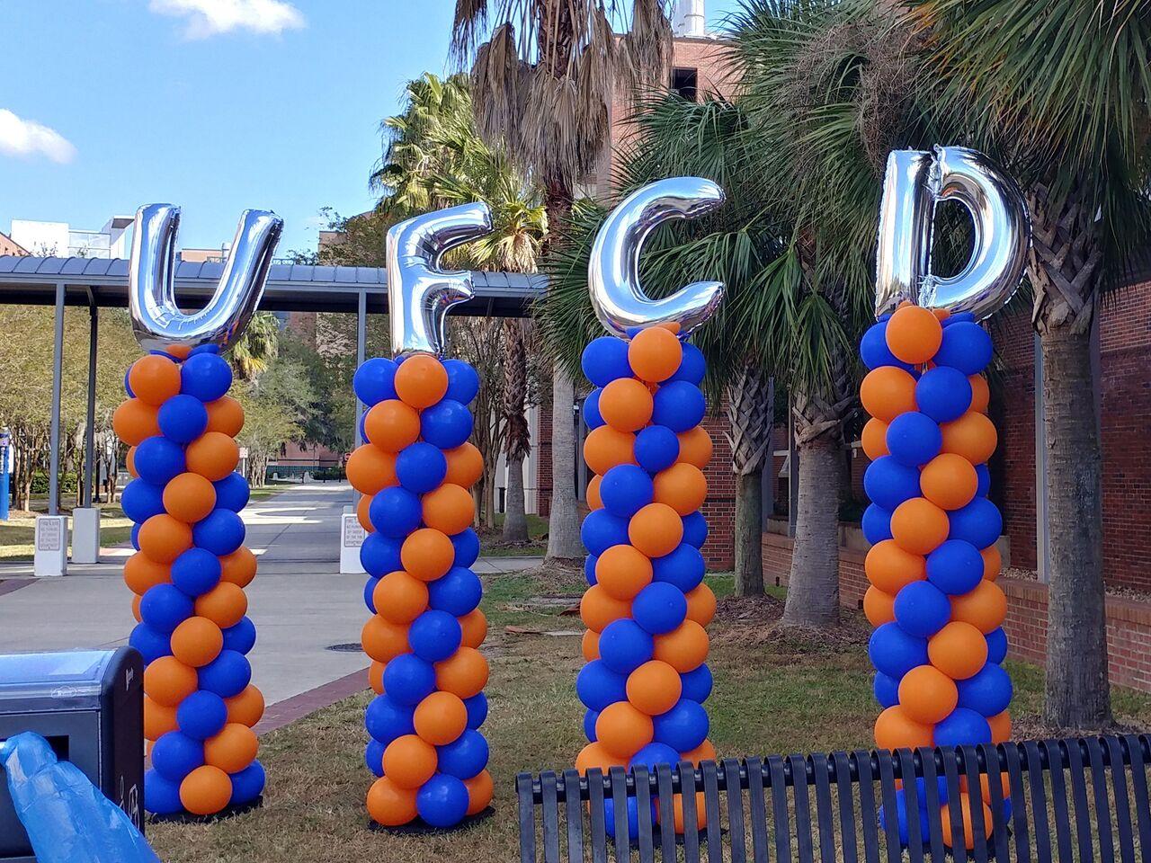 Balloon Column, Megaloon. 3' Letters