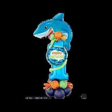 Deluxe Shark Single Digit Marquee