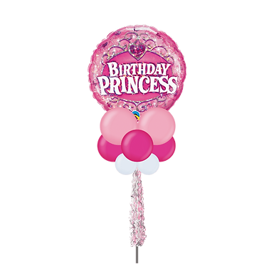 Birthday Princess Large Party Pole