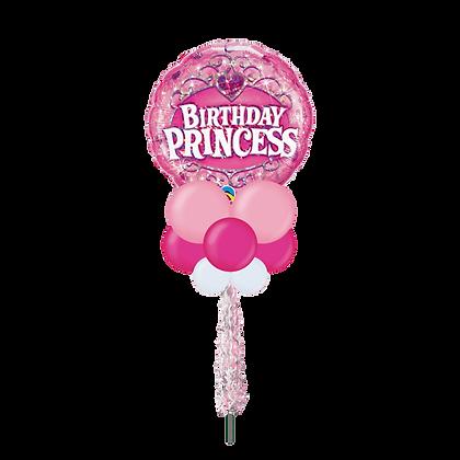 Birthday Princess Large Party Pole