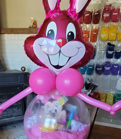 Deluxe Bunny Balloon Basket