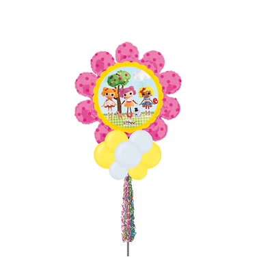 Jumbo Party Pole- Flower Doll