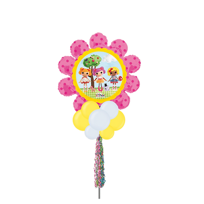 Jumbo Party Pole- Flower Doll