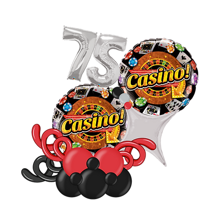 Casino Balloon Marquee Gift