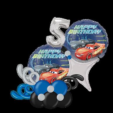 Disney Cars Happy Birthday Balloon Marquee Gift