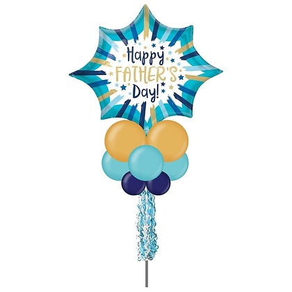 Jumbo Party Pole- Happy Father's Day