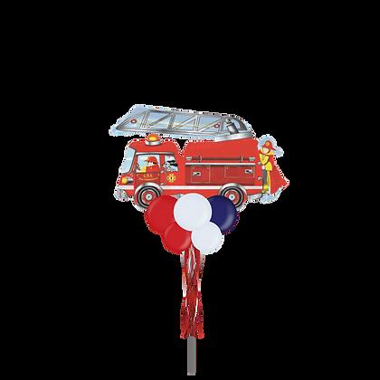 Jumbo Party Pole- Fire Truck