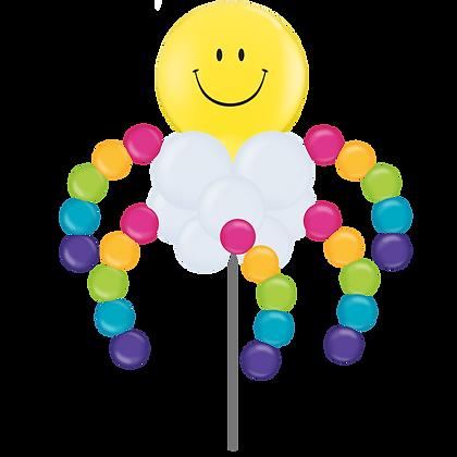 Smiley Rainbow Cloud Windwaver
