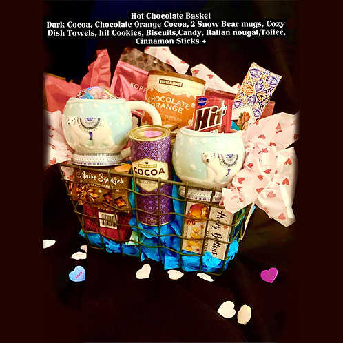 """Sweets for a Sweetie"" Gift Basket"