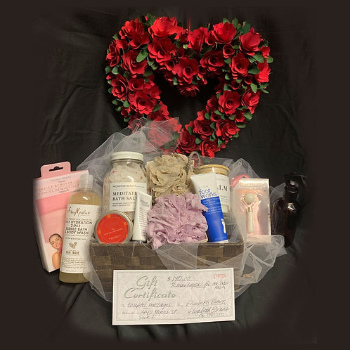 Couples Massage Basket