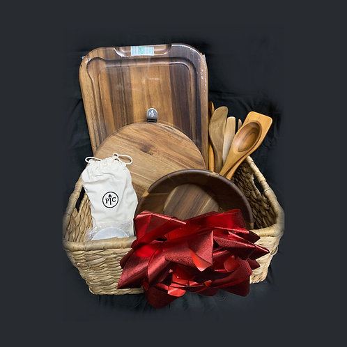 """Wood You Be Mine"" Gift Basket"
