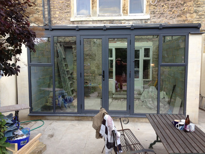 Glass extention Bath Frome