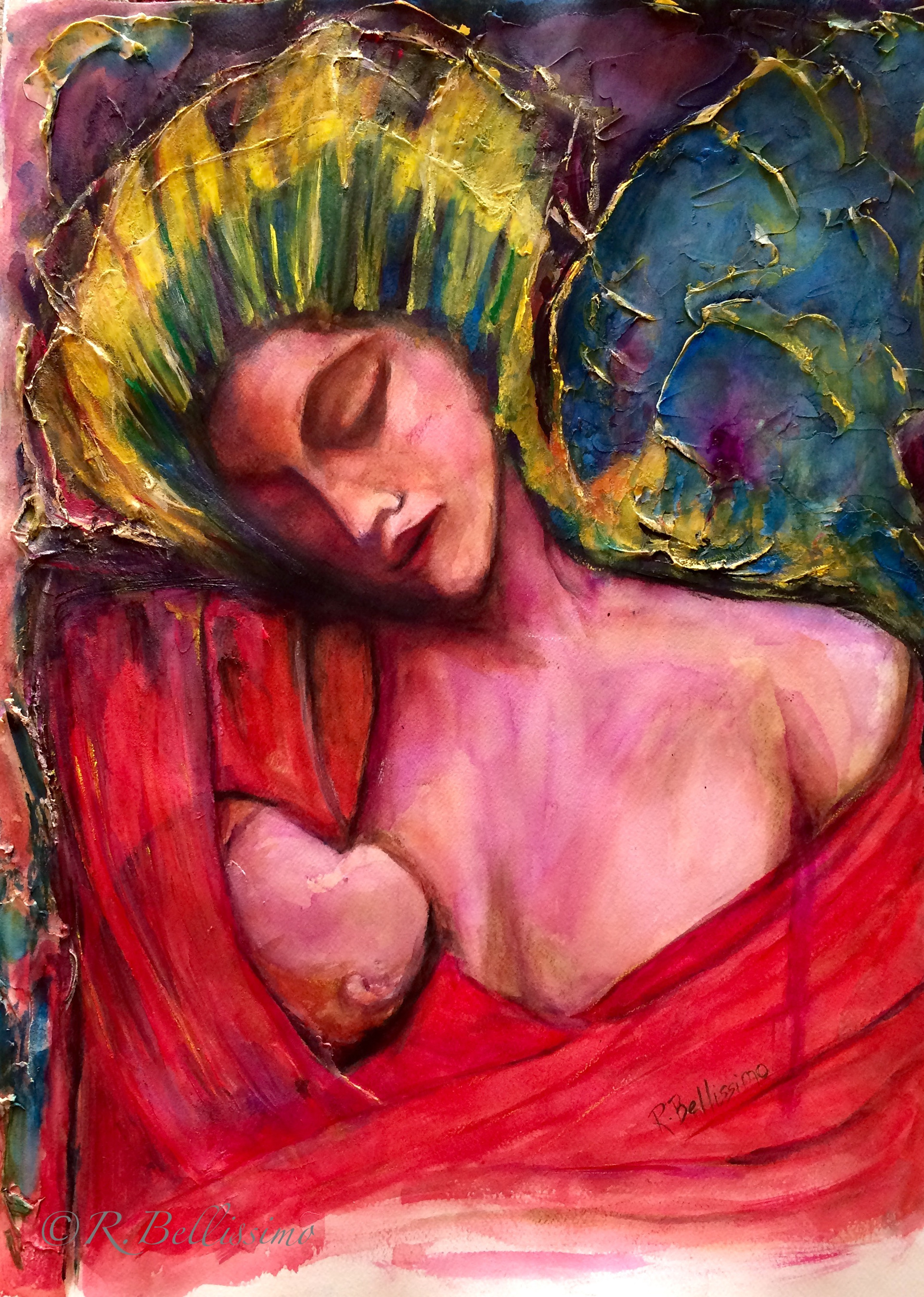 Madonna with Wings