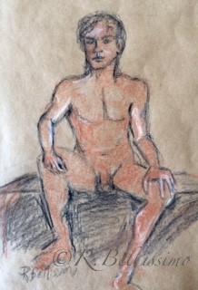 Male Frontal Sanguine