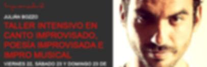 Creatividad y Canto Improvisado Verano 2016 Madrid Teatro en Madrid Canto En Madrid