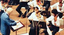 Toko Inomoto -- Playing under Yehudi Menuhin