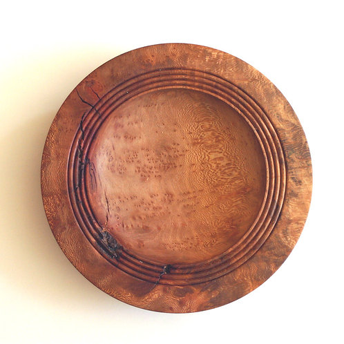 Bowl in burr London plane