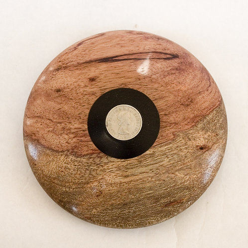 Gift boxed paperweight in Bubinga