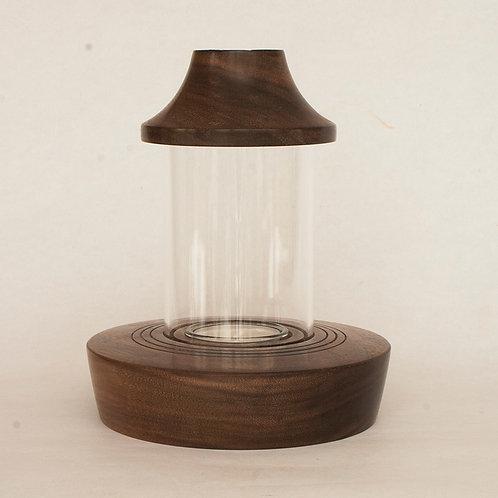 Mini  Storm Lantern in American black walnut