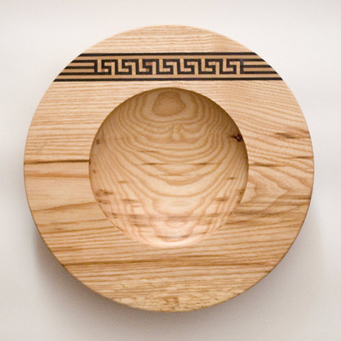 Meander pattern Inlay Bowl