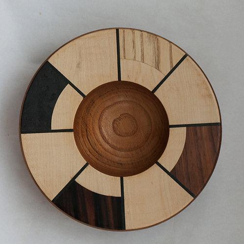 Veneered bowl