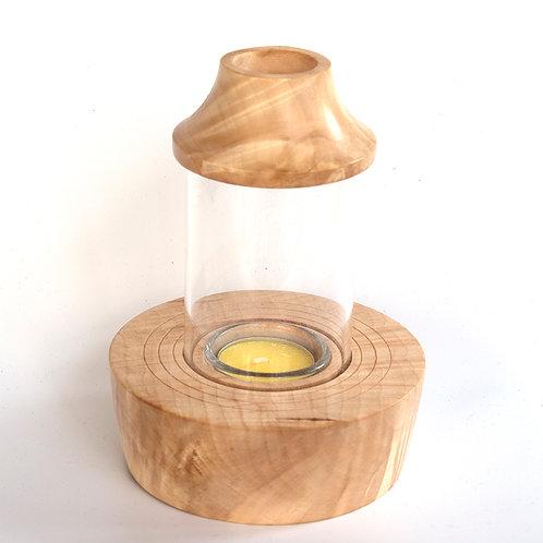 Mini  Storm Lantern in horse chestnut