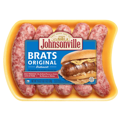 Salchicha Bratwurst Original - Johnsonville