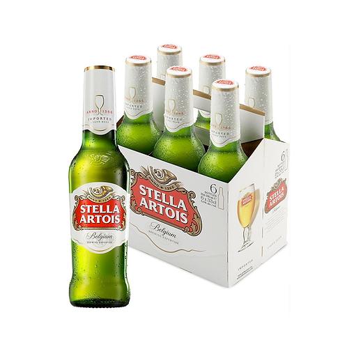 Cerveza Stella Artois - x6 pack