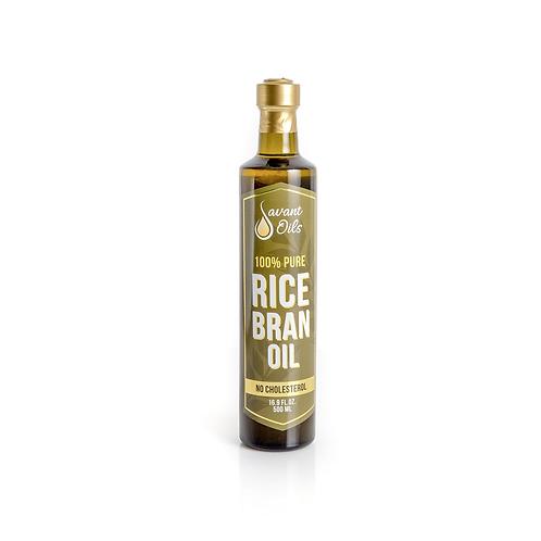 Aceite de salvado de arroz Savant Oils 500ml